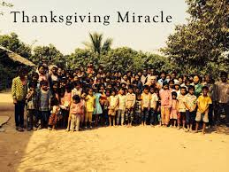 thanksgiving miracle fcop international