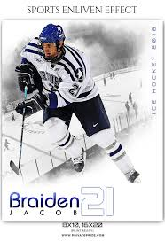 hockey templates for photoshop braiden jacob ice hockey sports enliven effects photography