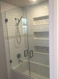 Non Glass Shower Doors by Shower Royale Bathtub Shower Doors