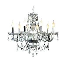 Mini Chrome Chandelier 8 Light Crystal And Chrome Chandelier Home Depot Mini Crystal