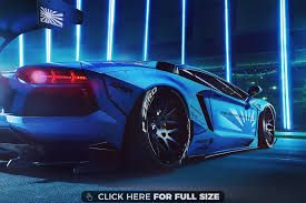 galaxy lamborghini wallpaper blue modified lamborghini hd wallpaper