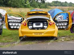 renault yellow northants england aug 2 yellow renault stock photo 74475136