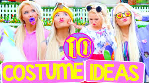 10 last minute halloween costumes easy diy ideas youtube