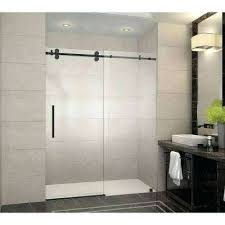 Bypass Shower Door Sliding Shower Doors Frameless Bathtub Bypass Showers The Home