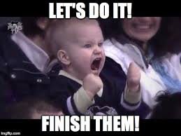 Lets Do This Meme - hockey baby imgflip