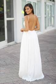 white maxi dress white lace maxi dress with open back maxi dresses saved by the