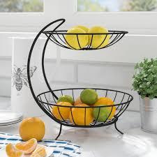Fruit Basket Rebrilliant 2 Tier Fruit Basket Reviews Wayfair