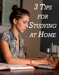 tips for studying at home