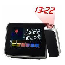 bureau num駻ique horloge de bureau numérique réveil avec projecteur couleur écran