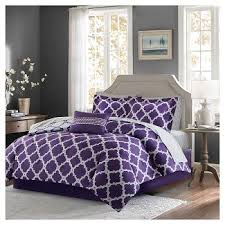 Plum Bedding And Curtain Sets Purple Bedding Target