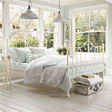 Antique White Metal Bed Frame Metal Bed Design Ideas Within Bedroom Ideas With Metal Beds