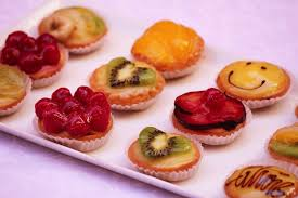 canap sucr mini tartelettes sucrees ateliers partage culinaire mur
