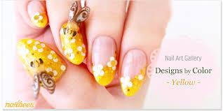 yellow nail designs nailbees