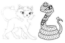 monster pets coloring pages gekimoe u2022 13950