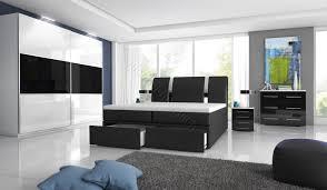 Schlafzimmerm El Kleiderschrank Schlafzimmer Mit Boxspringbett Mit Zwei Bettkästen Möbel Für