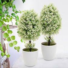 small artificial plants floral decor ebay