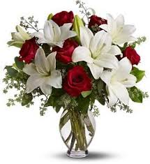 white lillies roses with white lilies salama greenhouse floral