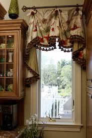 Making A Window Valance This Scalloped Valance With Bells U0026 Jabots Enhances The Window