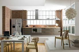 cuisine ouverte sur sejour impressionnant idee cuisine ouverte sejour et idees decoration