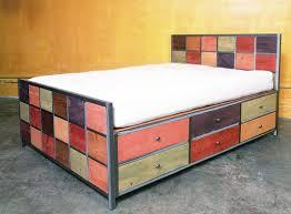 steel frame 12 drawer platform bed 12 drawer storage bed designs
