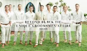 groomsmen attire fashion news mens 39 attire inside weddings