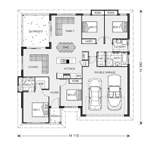 wide bay 181 home designs in riverland g j gardner homes floor plan
