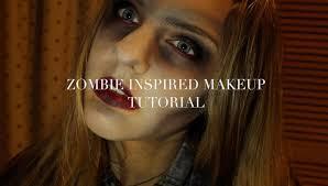halloween makeup ideas zombie quick u0026 easy halloween zombie makeup youtube