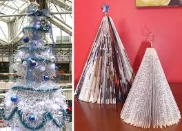 How To Make A Christmas Tree Star For Top - 18 clever christmas trees created with recycled materials webecoist