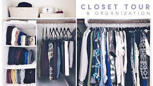 wardrobe organization closet tour organization 2016 youtube