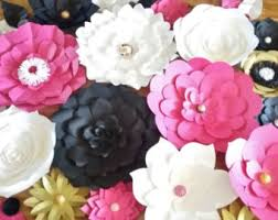 japanese wedding backdrop diy paper flower backdrop set of 30 paper flowers paper