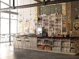 rustic interiors café on behance