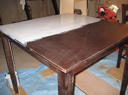 kitchen table refinishing ideas kitchen magnificent resurface dining table restaining kitchen