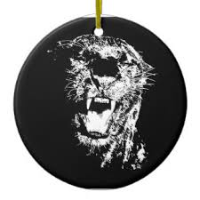 roaring jaguar ornaments keepsake ornaments zazzle