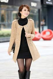 woman coat winter jacket lady long coats fashion wear warm