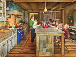 cabin kitchen ideas rustic cabin kitchen myhomeideas com