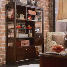 etagere bookcase with 4 drawers by american drew wolf and