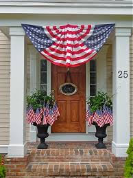 flag decorations for home patriotic flag decor fourth of july entrance decorating