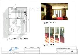 kitchen extension and study u2013 agf plans