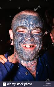 halloween costumes with tattoos young man with tattoos and piercings at the dunstable tattoo and