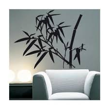 Stickers Salle De Bain Bambou by Stickers Bambou Noir Achat Vente Stickers Bambou Noir Pas Cher
