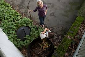Backyard Composter Banana Peel Wars Composting Is Becoming More Popular But Not