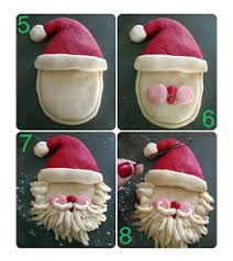 salt dough santa salt dough santa and craft
