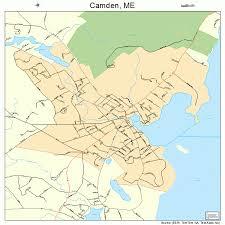 map of camden maine camden maine map 2309690