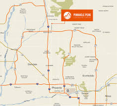 Map Phoenix Area by Peak Commerce Center Deer Valley Phoenix Az
