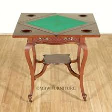 expandable game table antique english inlaid rosewood envelope game table modern games