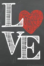 free valentine u0027s day printables chalkboards decorating and holidays