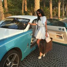blue girly cars the rich kids of dubai flaunt their wealth in envy inducing