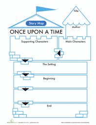 printable comprehension stories 15 printable story maps education