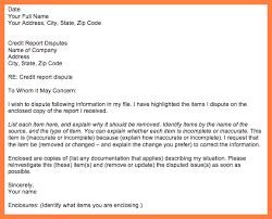 4 sample letter to remove items from credit report progress report