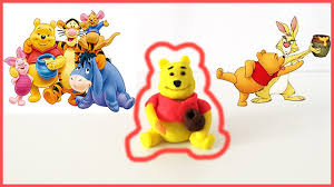 winnie the pooh thanksgiving how to make winnie the pooh out of play doh clay disney